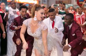Carnaval 2016: Viviane Araújo usa look decotado em ensaio do Salgueiro. Vídeo!