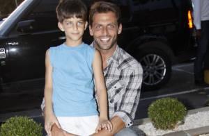 Henri Castelli diz que seu filho ajudou a escolher o nome da irmã, Maria Eduarda
