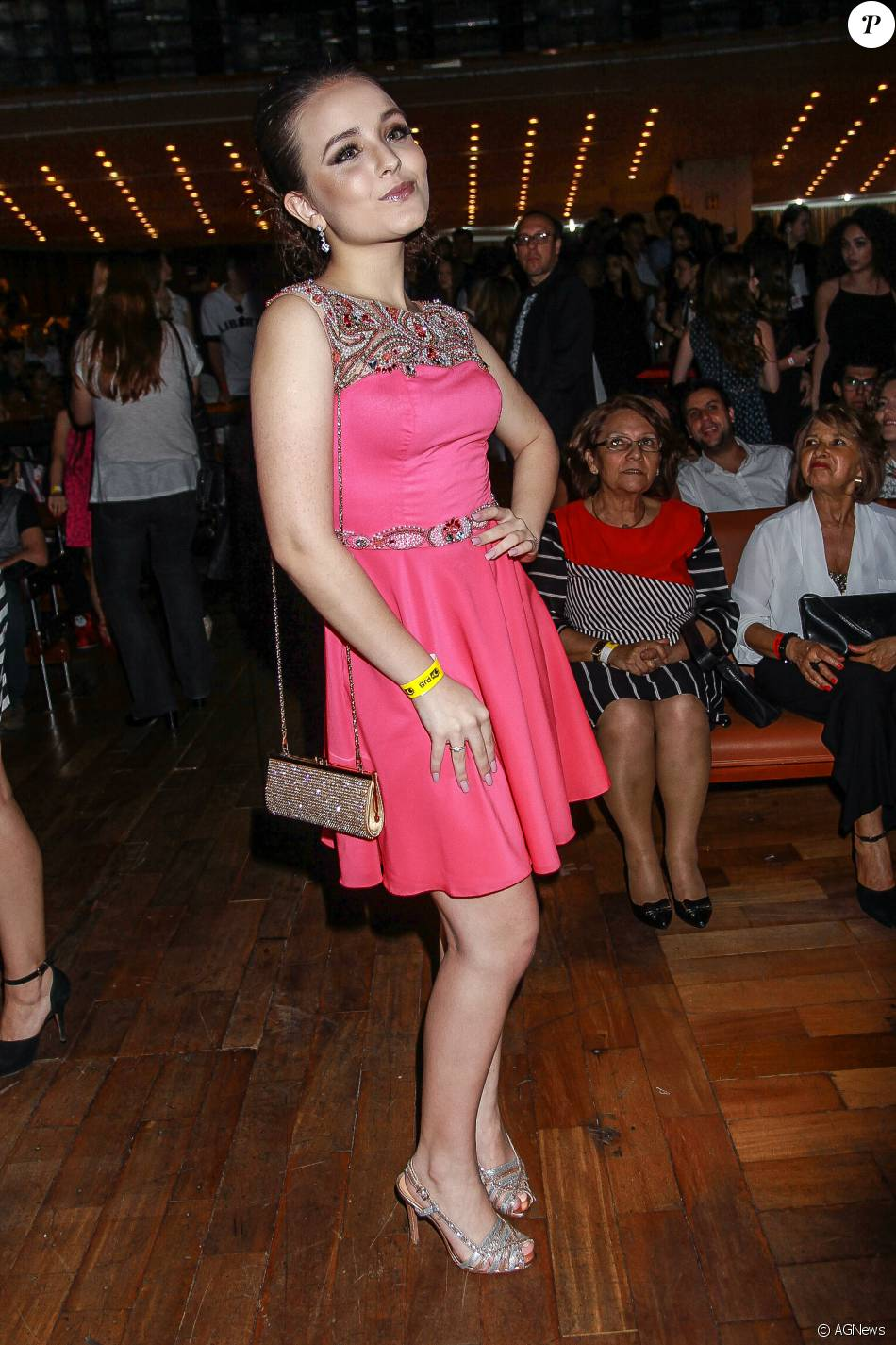 Larissa Manoela posa na 14ª edição do Prêmio Jovem Brasileiro 2015, em 18  de novembro de 2015, no Palácio das Convenções Anhemb, São Paulo 7803131579