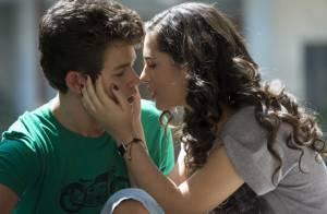 Lívian Aragão dá seu primeiro beijo na TV e afirma: 'Não fiquei nervosa'