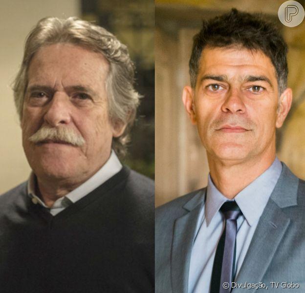 'A Regra do Jogo': Pai da facção, Gibson (José de Abreu) manda matar Orlando (Eduardo Moscovis). 'Está decidido'
