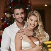 Andressa Suíta usa vestido de R$ 1.445 em casamento com Gusttavo Lima