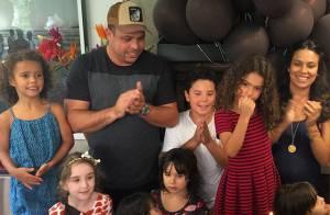 Ronaldo comemora os 7 anos da filha mais velha, Maria Sofia: 'Papai te ama!'