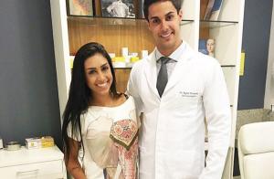 Ex-BBB Amanda Djehdian admite botox no rosto: 'Dá a arqueada na sobrancelha'