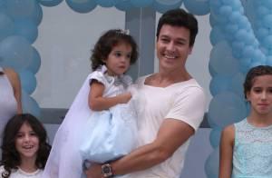 Helena, filha de Rodrigo Faro, faz 3 anos com festa cheia de famosos. Fotos!