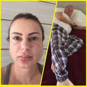 Stênio Garcia e mulher estão internados com caxumba e suspeita de meningite