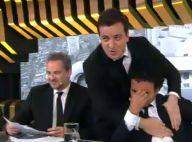 Marco Luque chora ao falar do fim do 'CQC' no último programa: 'Obrigado!'