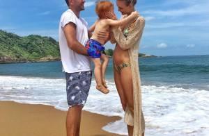 Carol Trentini está grávida do segundo filho: 'Linda história de amor'