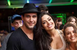 Aline Riscado e André Marques vivem affair e passaram a noite de domingo juntos