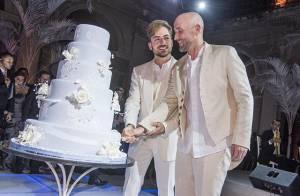Paulo Gustavo mostra foto de seu casamento com Thales Bretas pela primeira vez