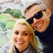 Otaviano Costa se declara a Flávia Alessandra no 'Encontro': 'Minha perfeição'