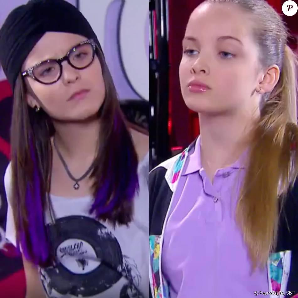 c1ce5a64ddcd8 Manuela (Larissa Manoela) é trancada no banheiro do camarim por Priscila  (Giovanna Chaves