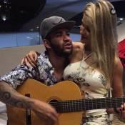 Gusttavo Lima canta música romântica para Andressa Suita em seu iate. Vídeo!