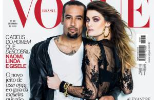 Isabelli Fontana posa com Ben Harper em editorial inspirado no Rock in Rio 2013