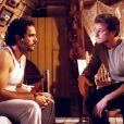 Humberto Martins e Marcello Novaes interpretavam os irmãos Lenin e Fidel em 'Vira Lata' (1996)