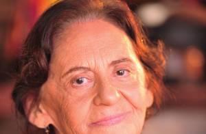 Laura Cardoso chega aos 86 anos em 'Flor do Caribe' e descartando aposentadoria
