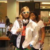 Rock in Rio: David Guetta é tietado por fãs antes de show no festival