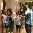 David Getta foi parado até por crianças durante o passeio pelo Rio de Janeiro
