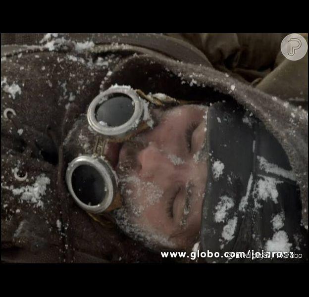 Bruno Gagliasso comentou sobre a dificuldade em gravar as cenas na neve para 'Joia Rara'