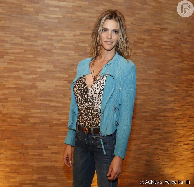 Fernanda Lima participa da coletiva da última temporada de 'Amor & Sexo'