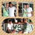 Xuxa posa com Neymar depois de entrevistar o jogador em Angra dos Reis, no litoral do Rio de Janeiro, em 18 de dezembro de 2012