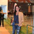 Carolina Ferraz no quarto dia de shows do Rock in Rio 2013
