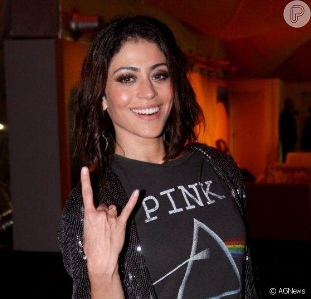 Carol Castro no quarto dia de shows do Rock in Rio 2013
