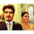 Casada com Michel (Caio Castro), Silvia (Carol Castro) resolve traí-lo com Guto (Márcio Garcia) para 'vencer' Patrícia (Maria Casadevall), em 'Amor à Vida'