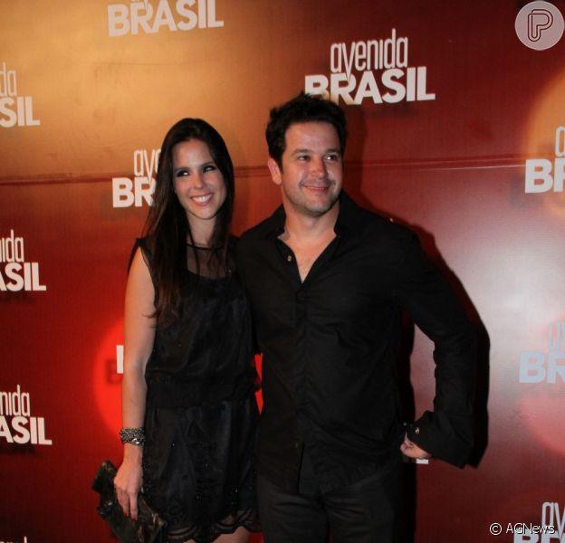 Pouco depois de completarem um ano de namoro, Murilo Benício e a cenógrafa Andréa Souza terminaram o relacionamento, em agosto de 2012