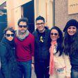 Débora Falabella e Murilo Benício, de namoro assumido, curtem lua de mel em Nova York no fim de novembro e são abordados por fãs brasileiros durante passeio na cidade americana