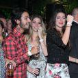 Thaila Ayala e Luma Costa se divertem na festa da marca Bo.Bô