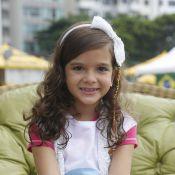 Mel Maia é poupada de comerciais e lida bem com rotina de atriz: 'Brinco sempre'
