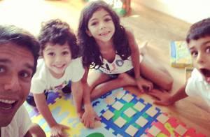 Márcio Garcia será pai pela quarta vez; veja famosos com muitos filhos