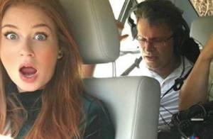 Marina Ruy Barbosa mostra foto de sequestro de Eliza em 'Totalmente Demais'