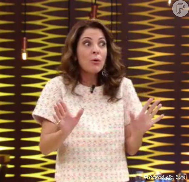 Ana Paula Padrão é criticada após aconselhar a participante Lívia no 'MasterChef Brasil' na última terça-feira, dia 26 de abril de 2016