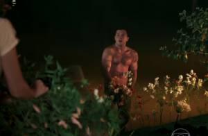 Klebber Toledo mostra bumbum em 'Êta Mundo Bom' e agita web: 'Que corpo!'