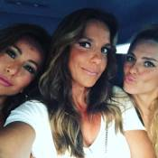 Ivete, Carol Dieckmann, Sabrina Sato e Duda Nagle vão a show de Beyoncé em Miami
