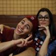 Biel  ficou com Nah Cardoso, a youtuber contratada para fazer seu par romântico no clipe de 'Química'