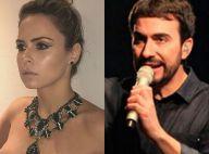 Ana Paula Renault troca mensagens com padre Fábio de Melo e declara: 'Sua fã'