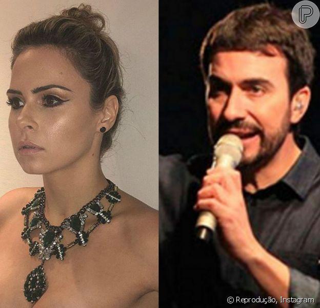 Ana Paula e o padre Fábio de Melo trocaram mensagens no Twitter, após a ex-BBB fazer as pazes com Val Marchiori