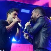 Zezé Di Camargo e Luciano comemoram 25 anos de carreira com Xuxa e famosos