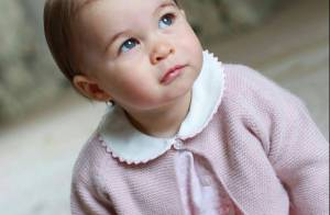 Princesa Charlotte, filha de William e Kate Middleton, esbanja fofura em fotos