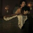Maitê Proença já protagonizou cena quente na novela 'Liberdade, Liberdade'