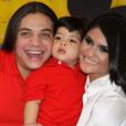 Wesley Safadão já foi casado com Mileide Mihaile, com quem teve um filho, Yhudy, atualmente com 5 anos