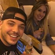 Wesley Safadão planeja casamento com a mulher, Thyane Dantas: 'Daqui a uns dias'