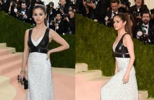 Selena Gomez divide web com look Louis Vuitton e coturno no MET Gala: 'Decepção'