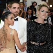 Kristen Stewart chega sozinha e Robert Pattinson vai com FKA Twigs ao Met Gala