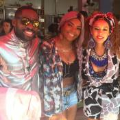 Ludmilla grava 'Mister Brau' com Tais Araujo e Lázaro Ramos: 'Turma que eu amo'