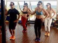Juliana Paes e Deborah Secco mostram rebolado em aula de dança. Vídeo!