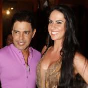 Zezé Di Camargo emprega a namorada, Graciele Lacerda, em sua equipe de produção